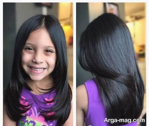 Girls haircuts 15 - جدیدترین انواع مدل موی دختر بچه ها برای موهای بلند و کوتاه
