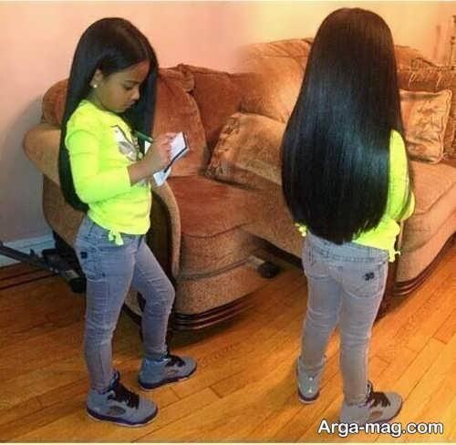 Girls haircuts 2 - جدیدترین انواع مدل موی دختر بچه ها برای موهای بلند و کوتاه