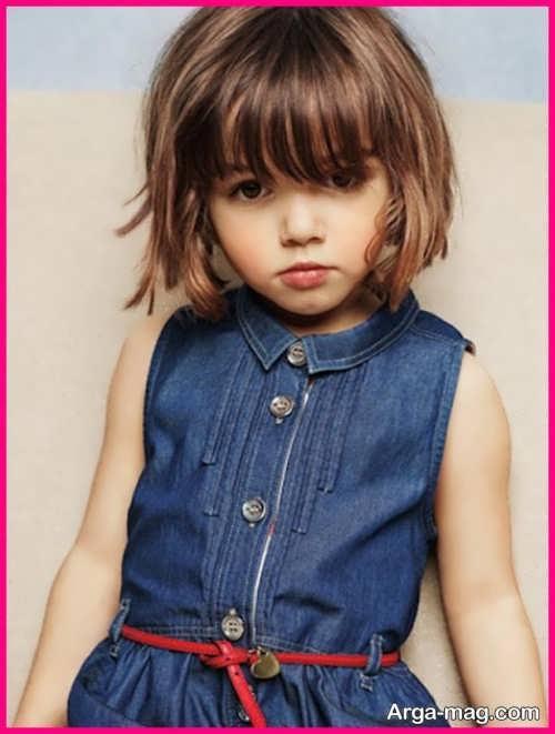 Girls haircuts 21 - جدیدترین انواع مدل موی دختر بچه ها برای موهای بلند و کوتاه