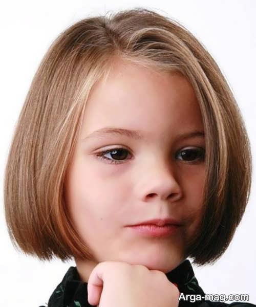 Girls haircuts 24 - جدیدترین انواع مدل موی دختر بچه ها برای موهای بلند و کوتاه