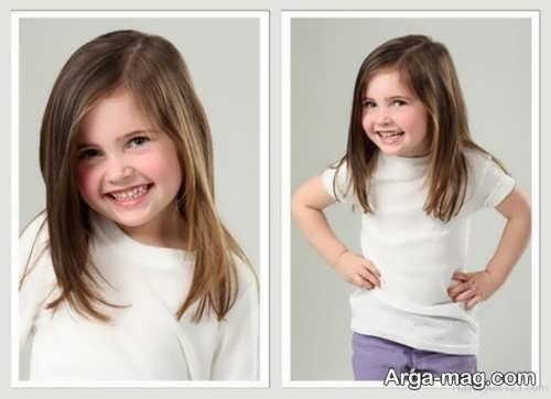 Girls haircuts 26 - جدیدترین انواع مدل موی دختر بچه ها برای موهای بلند و کوتاه