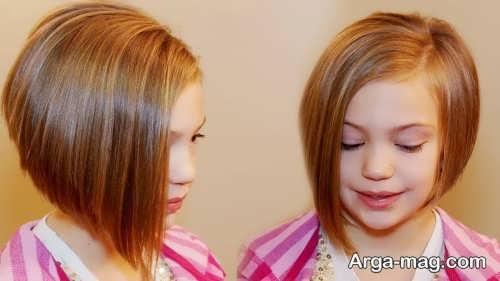Girls haircuts 5 - جدیدترین انواع مدل موی دختر بچه ها برای موهای بلند و کوتاه