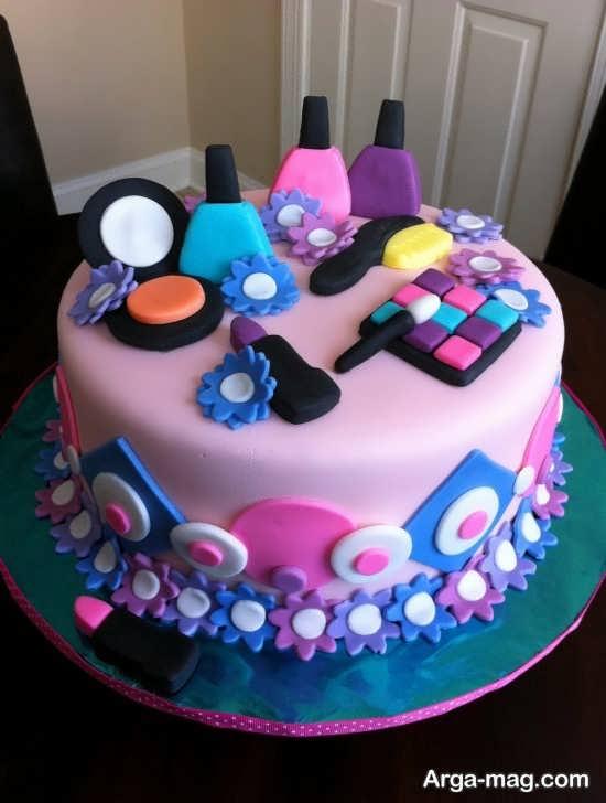 تزیین کیک تولد دخترانه با خلاقیت های زیبا و دوست داشتنی