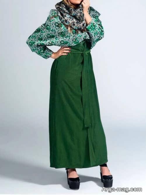 مدل مانتو سبز