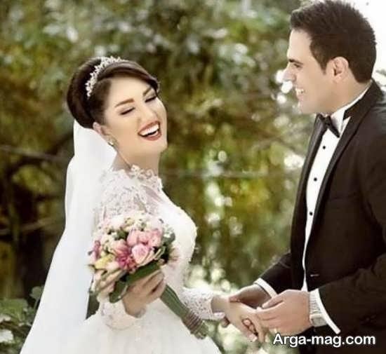 ژستهای مدرن عکس داماد و عروس