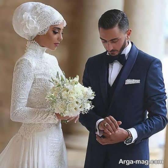 ژست عکسهای جذاب برای عروس و داماد