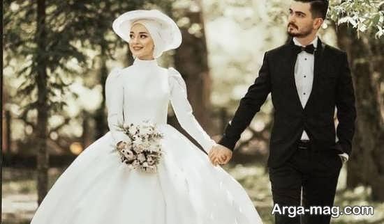 ژست عکسهای عاغشقانه برای عروس و داماد