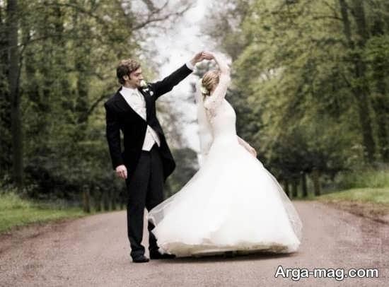 ژست عکسهای بی نظیر برای عروس و داماد