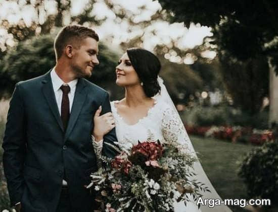 ژستهای مناسب عکس داماد و عروس