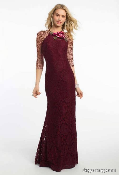مدل لباس گیپور زرشکی