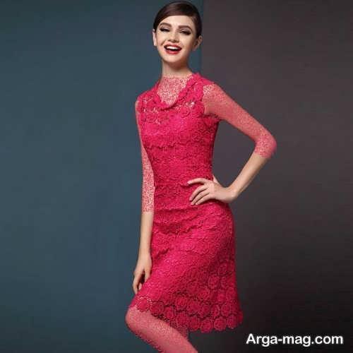 مدل لباس مجلسی شیک و گیپور