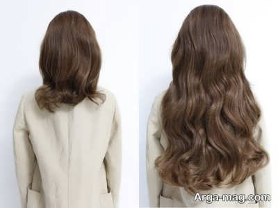 روش نصب اکستنشن روی موها