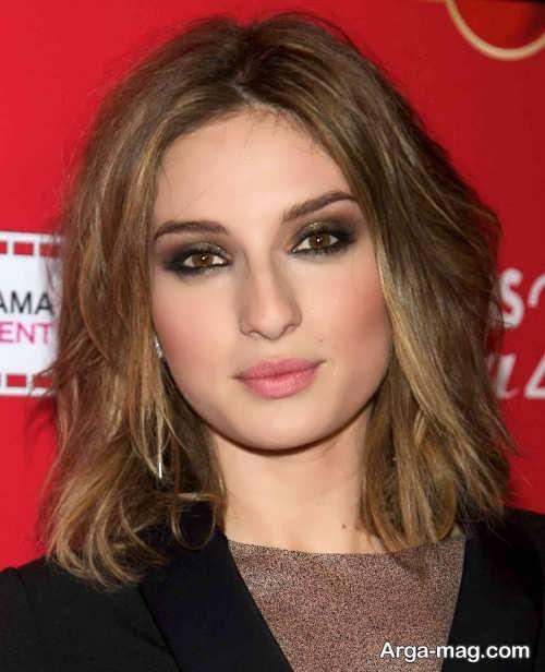 مدل موی زیبا برای صورت مربعی