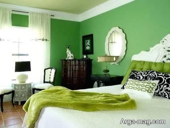 تزیین زیبای اتاق خواب