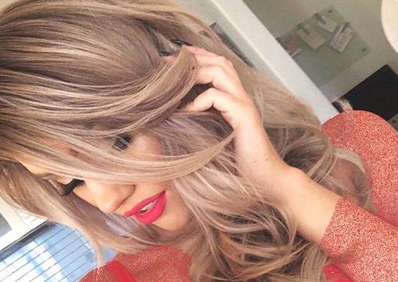 فرمول ترکیبی رنگ موی عسلی زیتونی