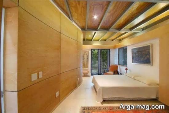 دیزاین لاکچری منزل با چوب