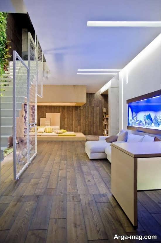 دیزاین چوبی منزل