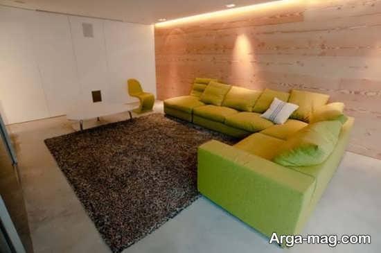 طراحی شیک منزل با چوب