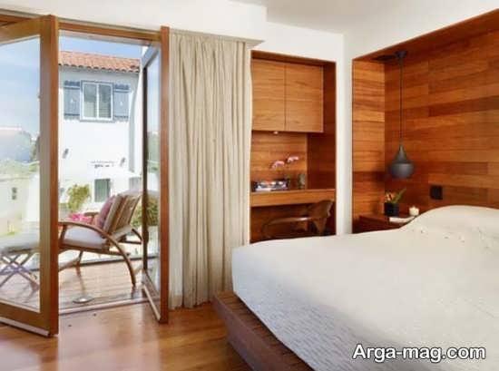طراحی متفاوت منزل با چوب