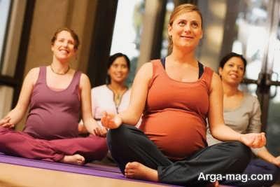 یوگا در دوران بارداری
