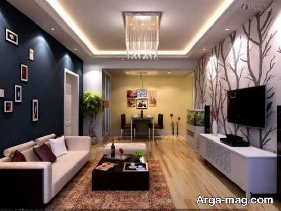 Living room lighting 1 - راهنمای نورپردازی اتاق پذیرایی و اصول آن