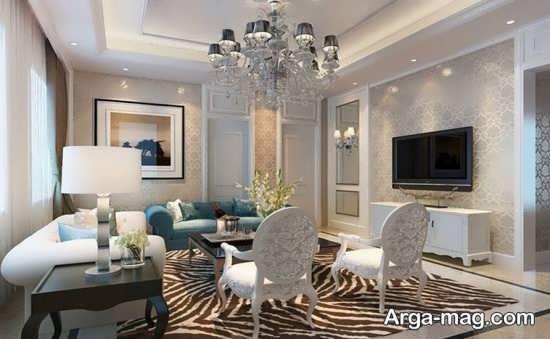 Living room lighting 12 - راهنمای نورپردازی اتاق پذیرایی و اصول آن