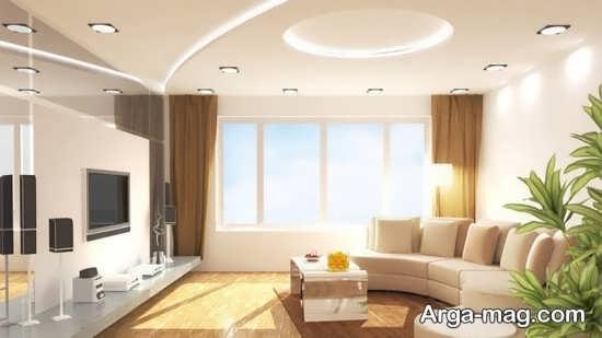 Living room lighting 15 - راهنمای نورپردازی اتاق پذیرایی و اصول آن