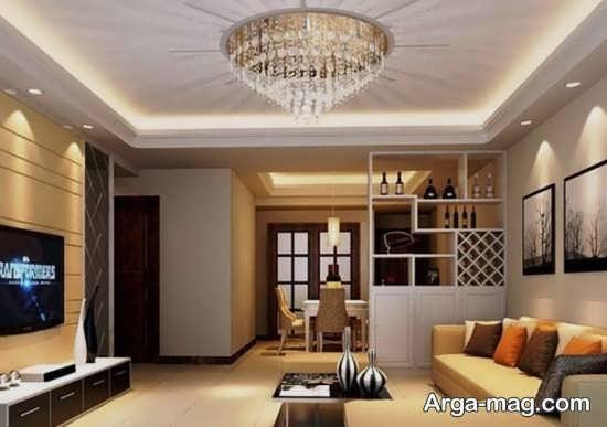 Living room lighting 5 - راهنمای نورپردازی اتاق پذیرایی و اصول آن