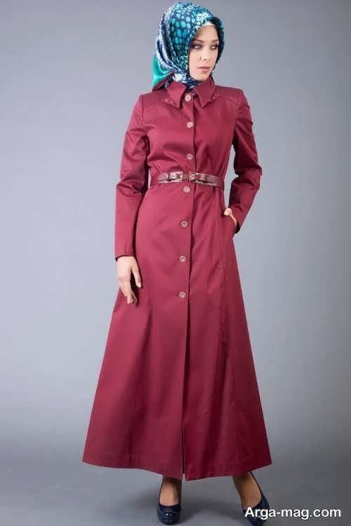 مدل مانتوی اسپرت بلند