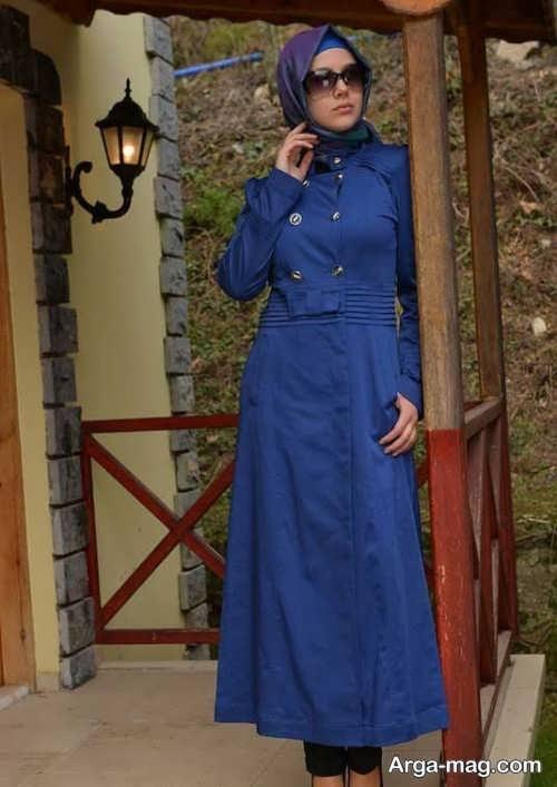 مدل مانتوی اسپرت بلند دخترانه