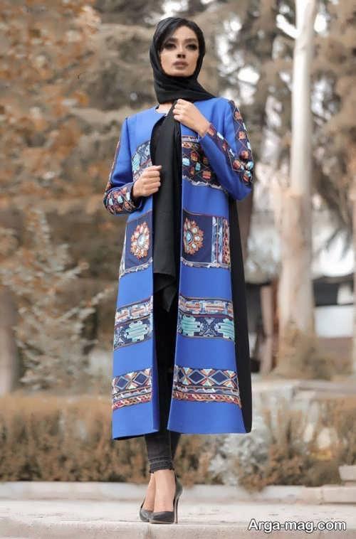 مانتو سنتی بلند