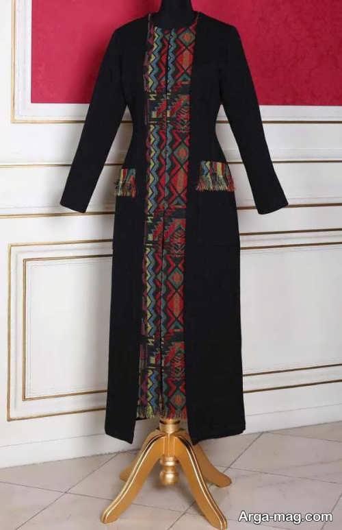 مدل مانتوی زیبا و شیک سنتی