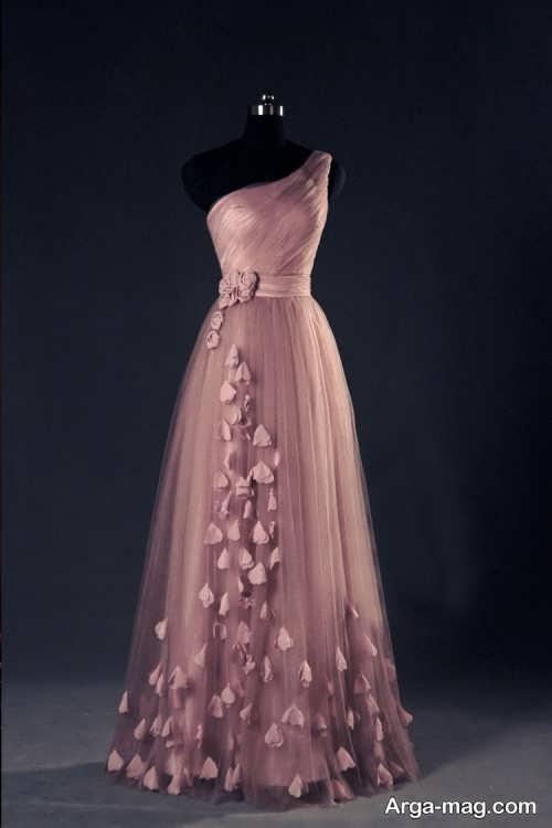 Long silk dress 1 - مدل لباس حریر بلند برای خوش پوش بودن در مجالس و مهمانی ها