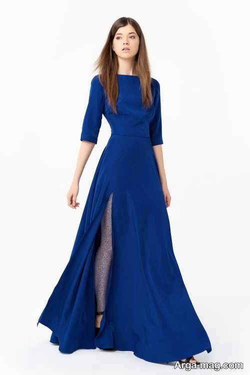 Long silk dress 11 - مدل لباس حریر بلند برای خوش پوش بودن در مجالس و مهمانی ها