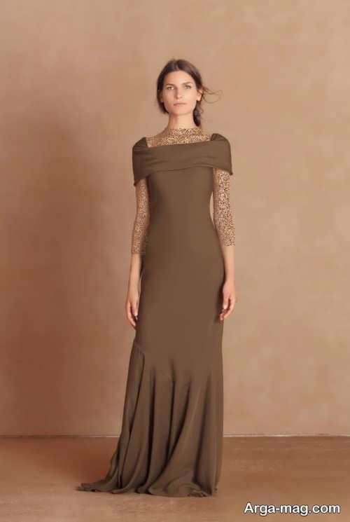 Long silk dress 15 - مدل لباس حریر بلند برای خوش پوش بودن در مجالس و مهمانی ها