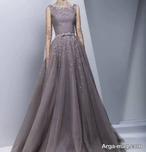 Long silk dress 17 - مدل لباس حریر بلند برای خوش پوش بودن در مجالس و مهمانی ها
