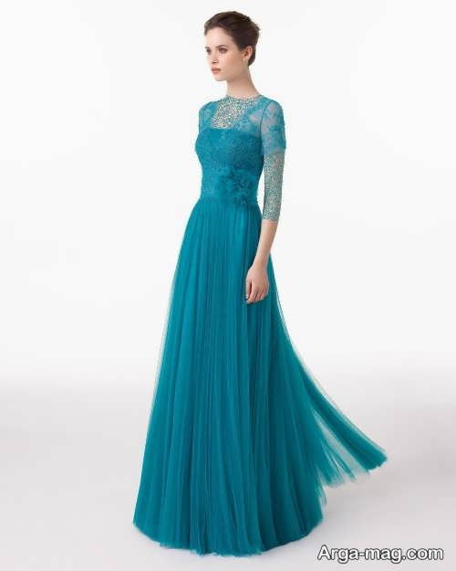 Long silk dress 23 - مدل لباس حریر بلند برای خوش پوش بودن در مجالس و مهمانی ها