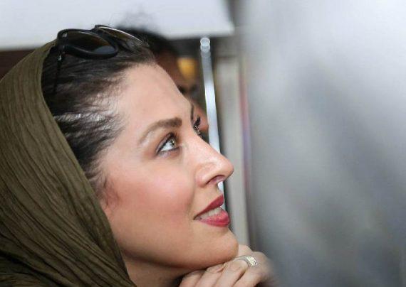 تصاویر لاکچری مهتاب کرمتی در سینما آزادی
