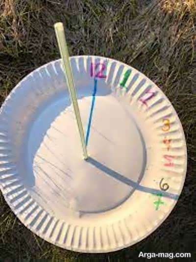 ساخت ساعت آفتابی ساده