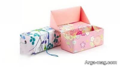 ساختن جعبه مقوایی با ایده شیک