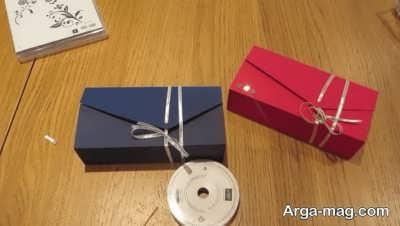 درست کردن جعبه کادویی با مقوا