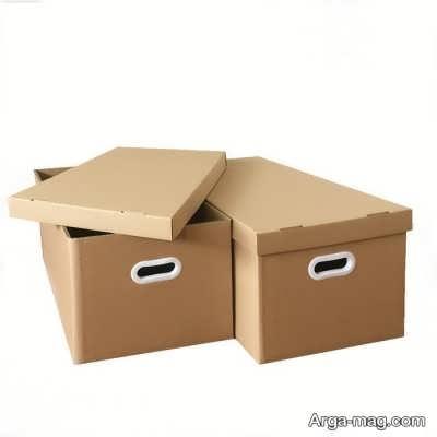 آموزش ساختن جعبه مقوایی