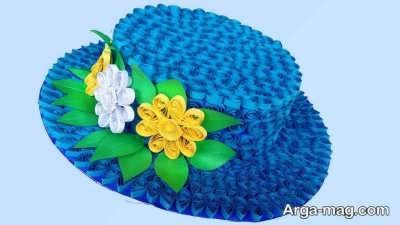 خلاقیت ساختن کلاه کاغذی