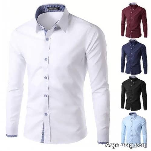 مدل پیراهن مردانه ساده و زیبا