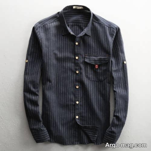 مدل پیراهن شیک و طرح دار مردانه