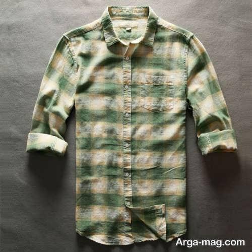 مدل پیراهن طرح دار مردانه