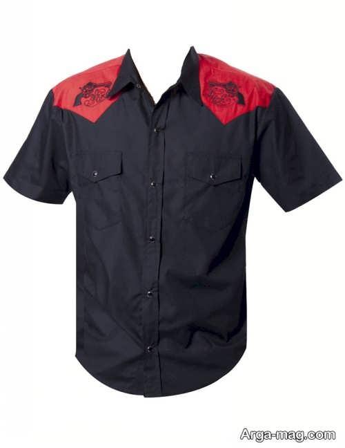 مدل پیراهن آستین کوتاه 2018