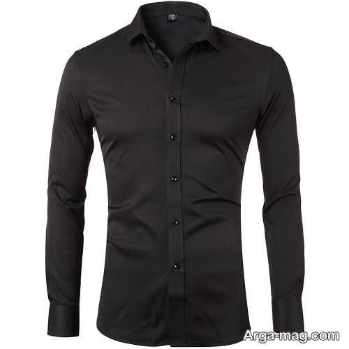 مدل پیراهن مشکی مردانه