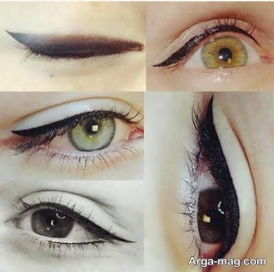 آرایش دائمی روی چشم ها