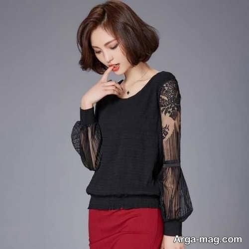 مدل بلوز شیک و کره ای دخترانه